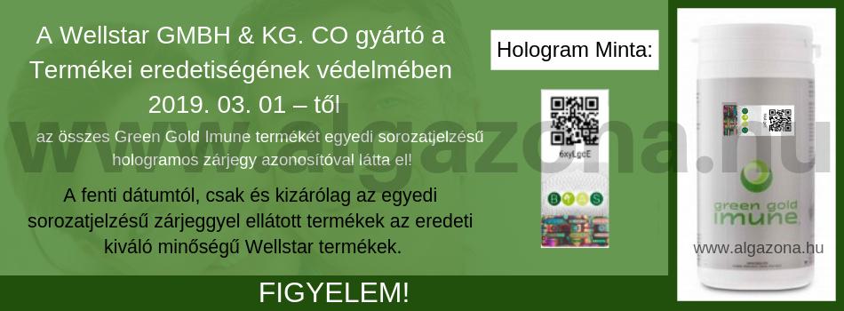 Hologramos Green Gold Imune