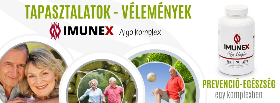 IMUNEX tapasztalatok vélemények