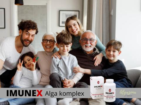 Család amely Imunex alga készítményt fogyaszt