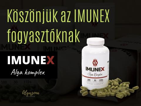 Köszönjük az Imunex alga fogyasztóknak