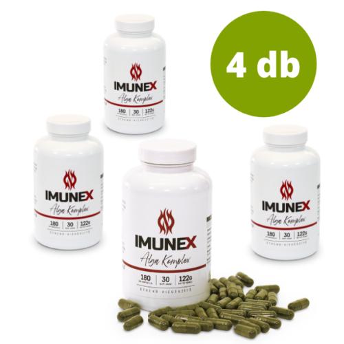 4 db Imunex Alga komplex készítmény